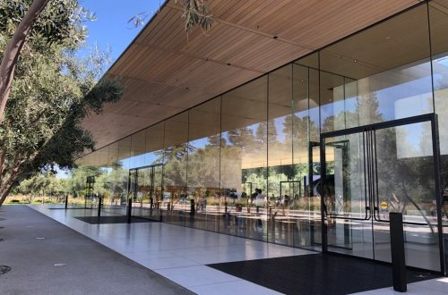 Apple Park visitor center - ingresso