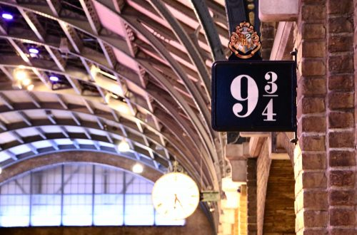 visitare harry potter studios londra - set binario