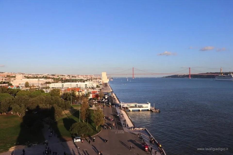 Lisbona dall'alto - torre de Belem