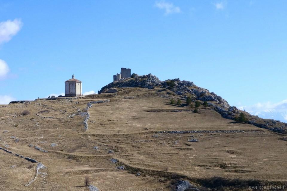 rocca calascio  - chiesa di Santa Maria della Pietà