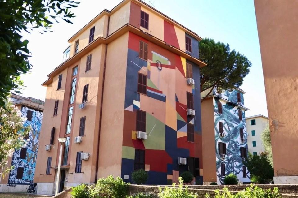 murales di Tor marancia senza titolo