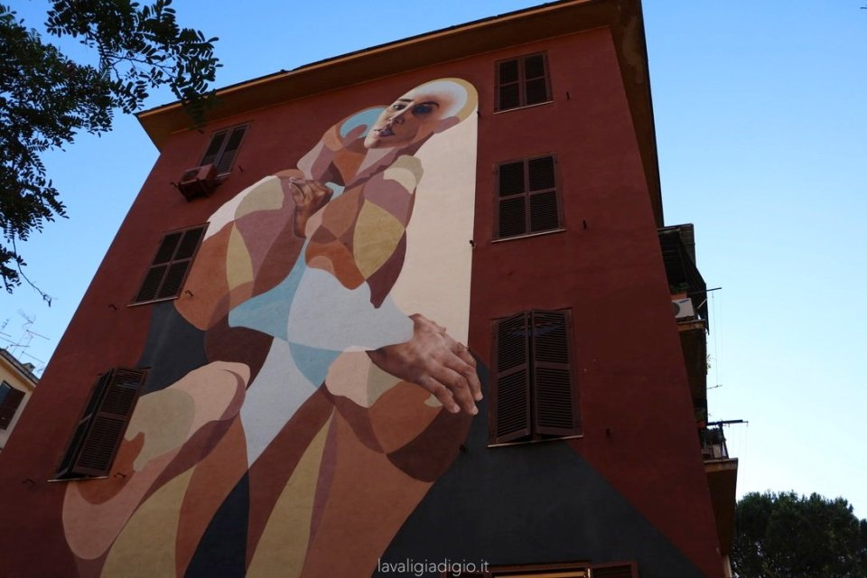 murales di Tor marancia piramide