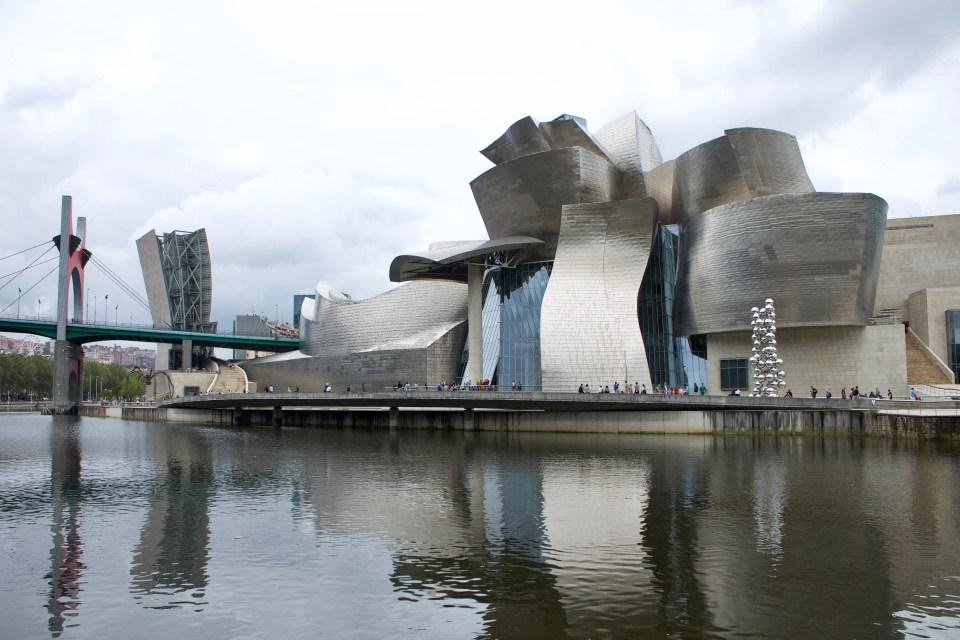 cosa vedere a bilbao Guggenheim Museoa