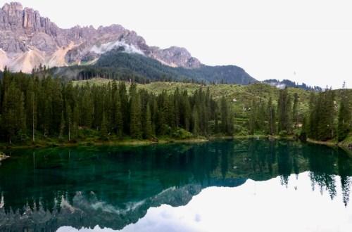 visitare lago di carezza