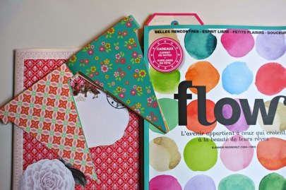 julie adore magazine flow goodies