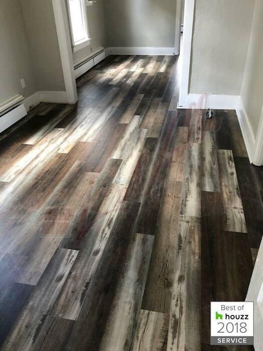 Southwind Harbor Plank MAYFLOWER Waterproof Hardwood Laminate Vinyl Flooring Installation Jamestown North Dakota-1