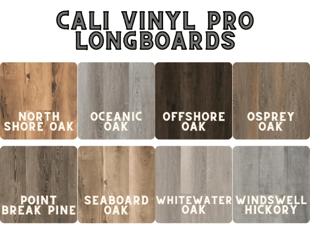 Cali Vinyl Pro Longboards Colors