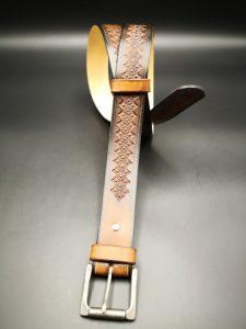 ceinture cuir artisanale
