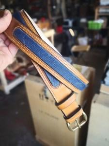ceinture cuir et jean's