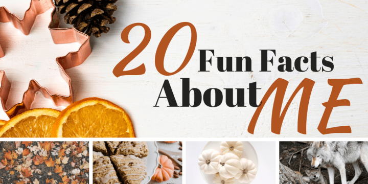 20 Fun Facts About ME