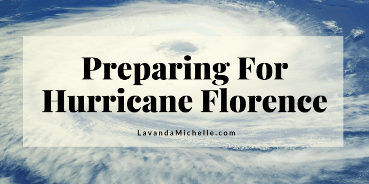 Preparing For Hurricane Florence