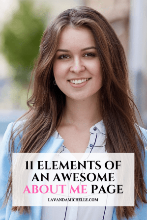 11 ELEMENTS OF AN AWESOME ABOUT ME PAGE
