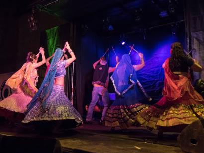 Lavapiés Diverso 2015   Concierto Plaza de Agustín Lara   14/11/2015   Compañía de Danza Salaam   5   Foto Paula Díaz/PqHdM