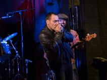 Lavapiés Diverso 2015   Concierto Plaza de Agustín Lara   14/11/2015   SBM Blues Band   5   Foto Paula Díaz/PqHdM