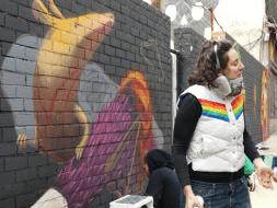 Lavapiés Diverso 2015 | 'Muro Abierto' | Jam de graffiti y arte urbano | 22/11/2015 | 14 | Foto Yolanda Pérez