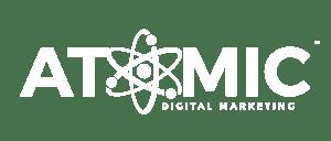 Atomic Digital Marketing Agency Branding Logo V4_Banner Logo on White