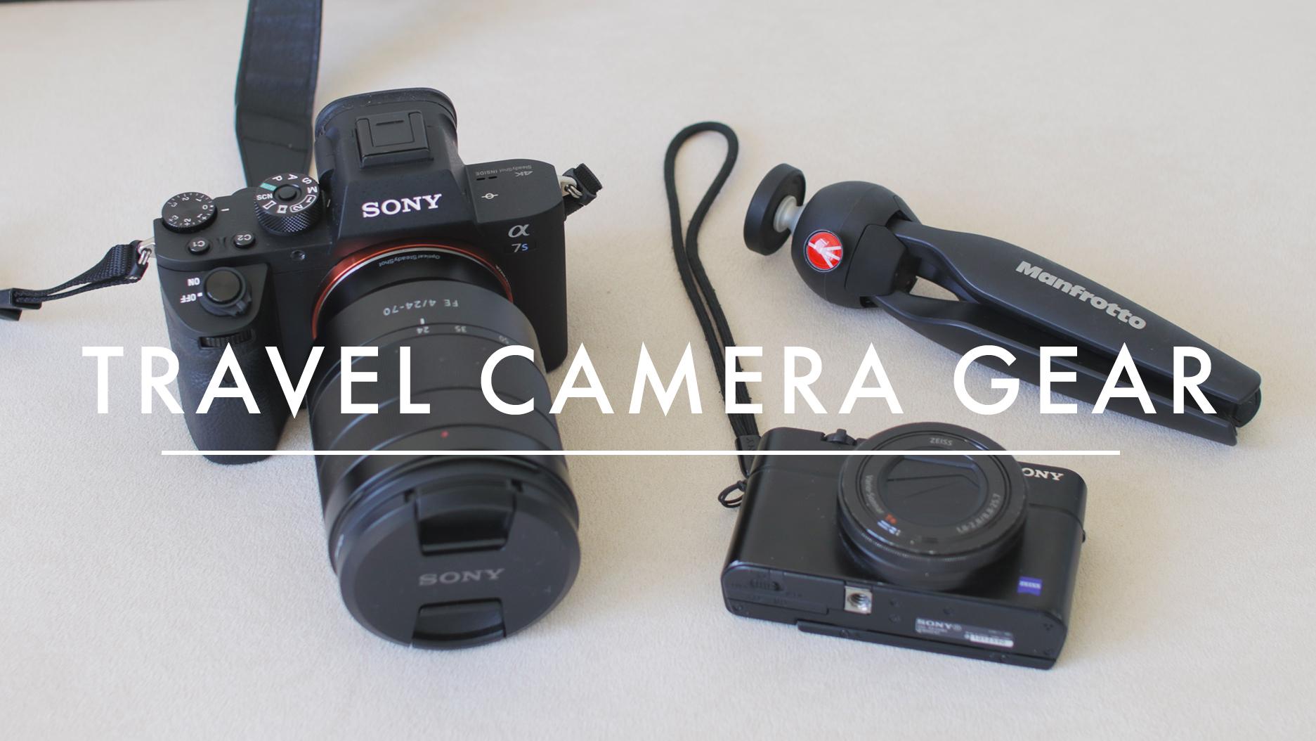camera gear for travel vlogging instagram lavendaire