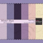 """Winter Hues"" Paper Pack"