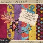 """Pixel Scrapper October Blog Train – """"Autumn Art"""""""