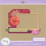 Friday Freebie – Cluster Frame