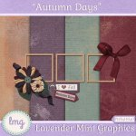 """Autumn Days"" – Newsletter signup mini kit!"