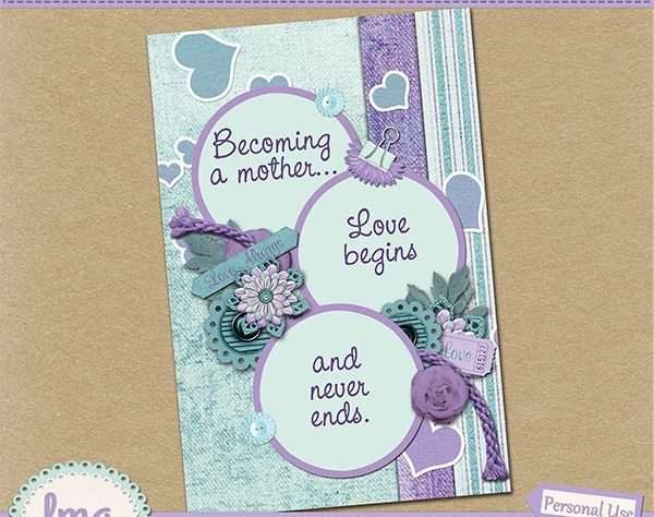 Printable Cards Wall Art Mother