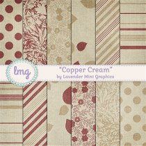 Floral Digital Scrapbook Paper