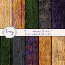 Halloween Wood Texture Digital Papers