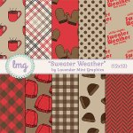 """Sweater Weather"" Paper Pack"