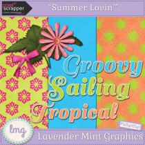 Summer Lovin' Pixel Scrapper Blog Train Freebie