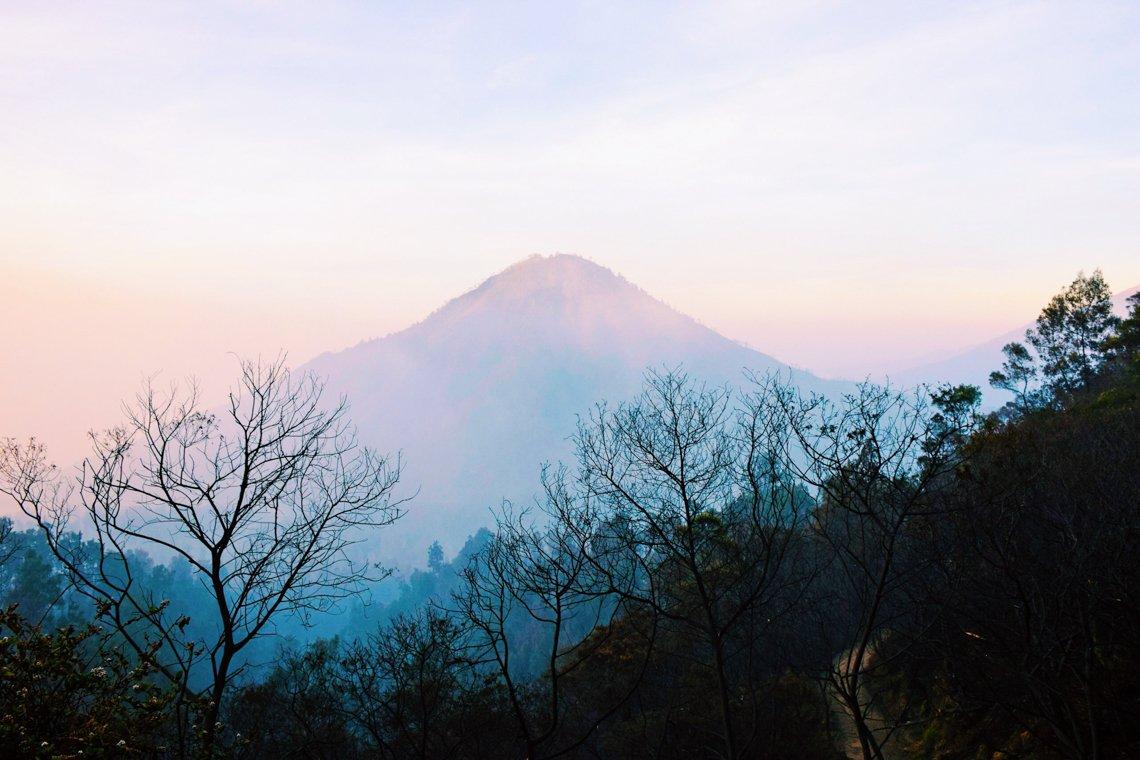 Kawah Ijen Volcano, Blue flames, Indonesia