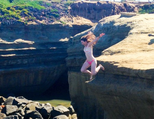 Sunset Cliffs - Leaps of Faith