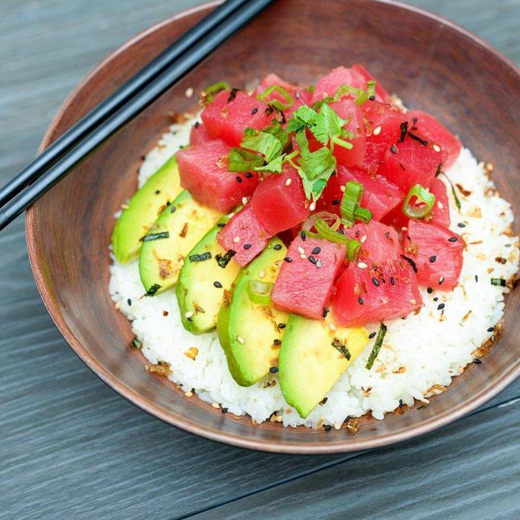 Poke Bowl - Must Eat Food Kauai