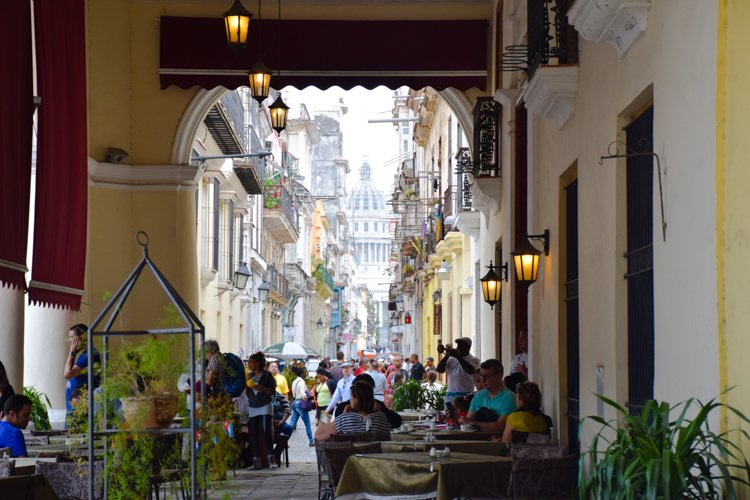 Calle Teniente Rey, Havana, Cuba