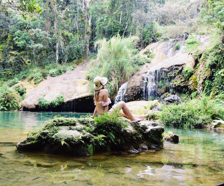 El Nicho Waterfalls Cuba