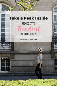 Mexico City's Trendiest Neighborhoods