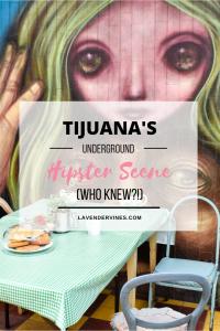 Tijuana, Mexico Hipster Scene,