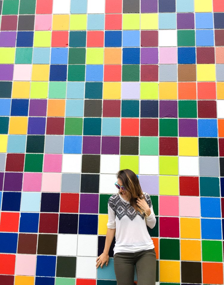 Favorite Color Mural - San Diego Instagram Spots