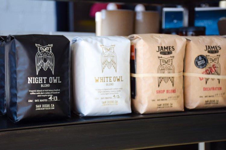 James Coffee Co - San Diego Instagram Spots