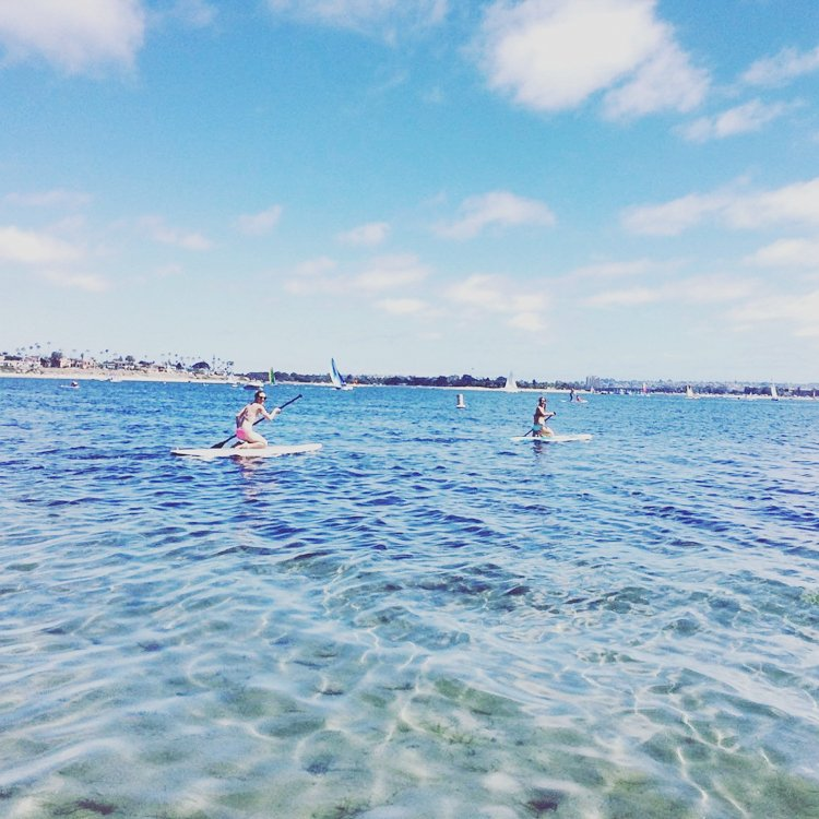 San Diego Bucket List - Paddle Boarding