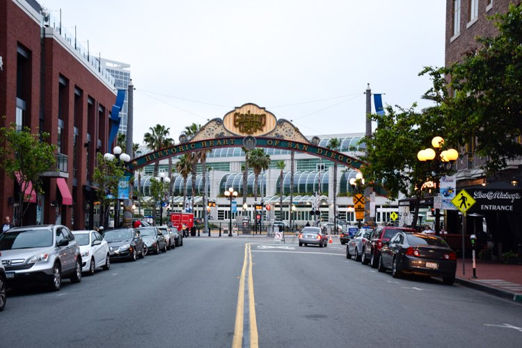 San Diego Bucket List - Gaslamp Quarter