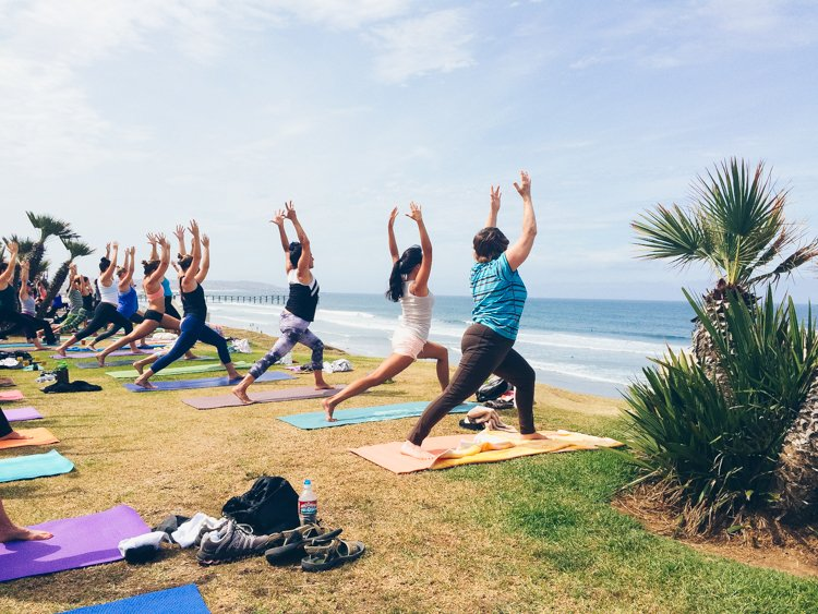 Pacific Beach Yoga - San Diego's Best Outdoor Activities