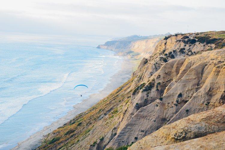 San Diego's Best Outdoor Adventures - Torrey Pines Gliderport - Paragliding