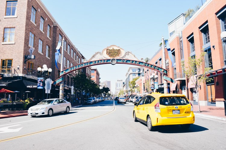 Gaslamp Quarter - Downtown - San Diego Neighborhood