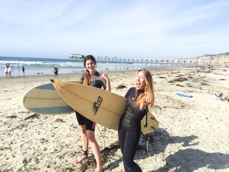 San Diego Bucket List - Surfing