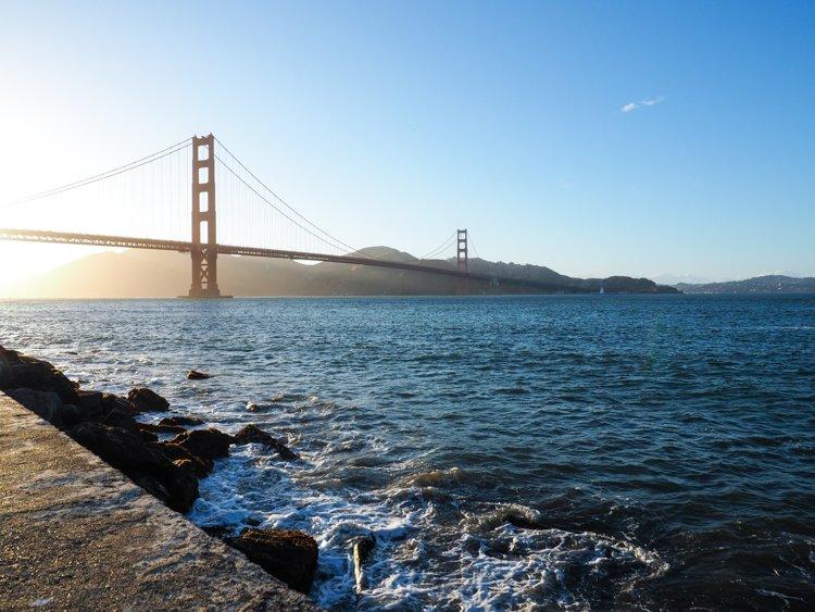 Torpedo Warf - Best places to photograph golden gate bridge at sunset