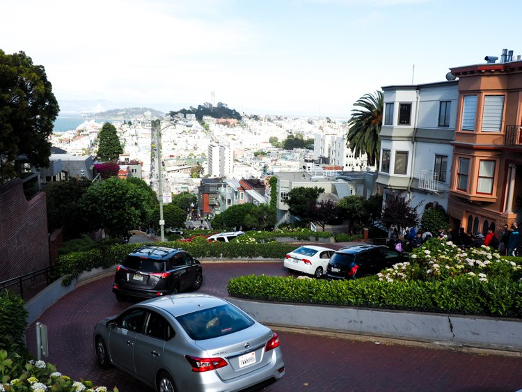 Lombard Street - 48 Hours in San Francisco