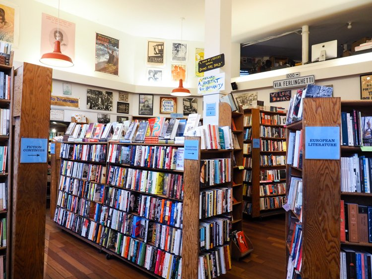 City Lights Bookstore - 48 Hours in San Francisco
