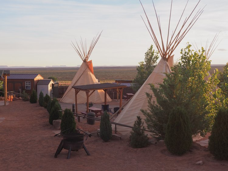 Monument Valley Tipi Village