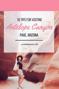 Visit Antelope Canyon tips